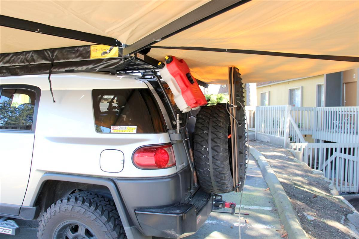 Corey s 2007 fj cruiser build up thread page 9 yotatech forums - Rotopax Back On And They Clear The Canvas