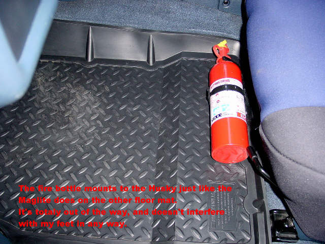 Fire Extinguishers In Cabin Toyota Fj Cruiser Forum